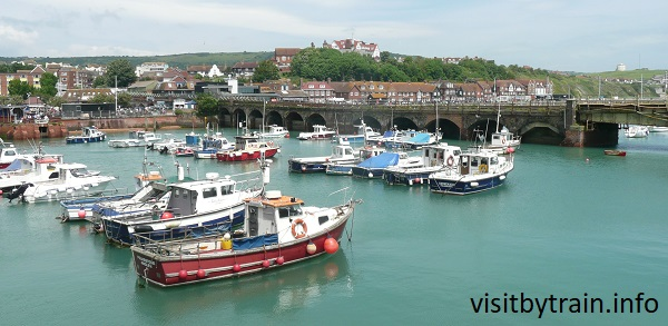 Photograph of Folkestone Harbour