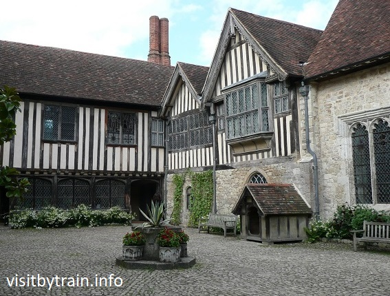 Photograph of Ightham Mote